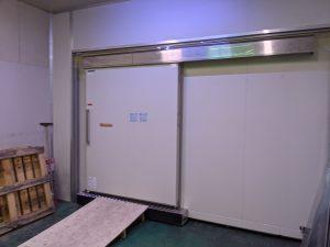 冷凍庫増設